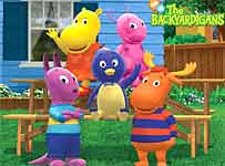 backyardigans color